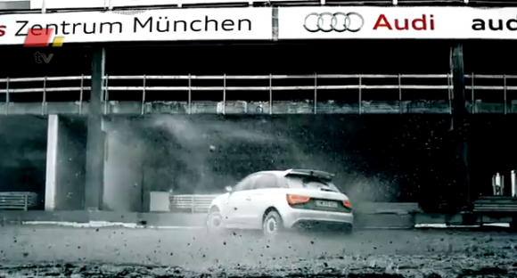 Vdeo de infarto con el Audi A1 quattro de protagonista
