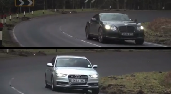 Bentley Continental GT vs Audi S4