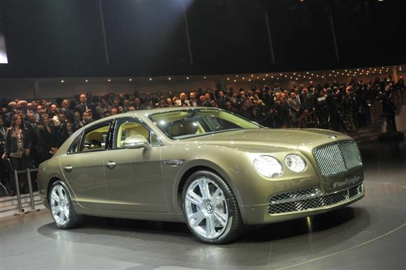 Ginebra 2013: Bentley Flying Spur