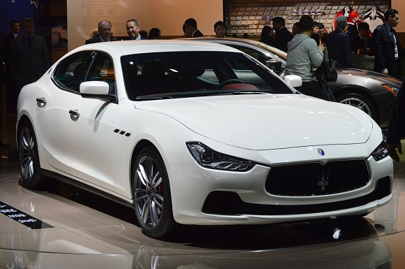 Shanghai 2013: Maserati Ghibli
