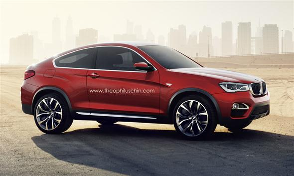 BMW X4 Coupe, una posibilidad?