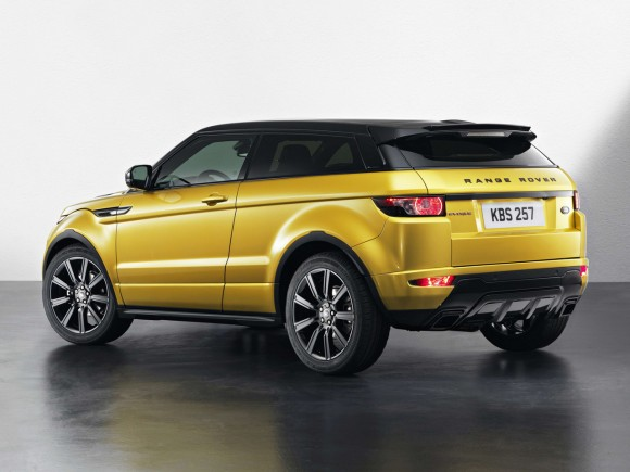 Llega a Espaa el Range Rover Evoque Silician Yellow