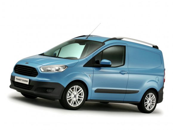 Ford Transit Courier, desvelado