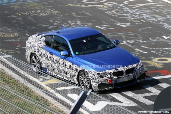 En vídeo: BMW Serie 4 Coupe, cazado