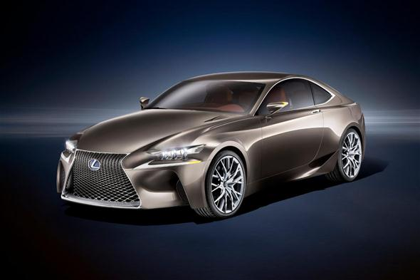 Lexus IS Coupé, primera información
