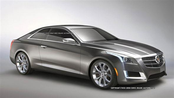 Ilustracin: 2013 Cadillac CTS Coupe