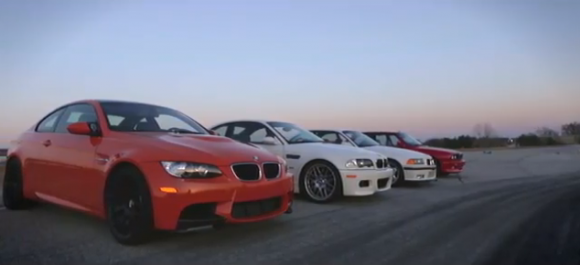 Vdeo: BMW M3 en todas sus generaciones