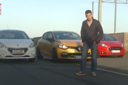 Ford Fiesta ST, Renault Clio RS y Peugeot 208 GTi cara a cara