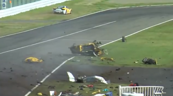 Sobrevive tras un terrible accidente a bordo de su Ferrari 458 en Suzuka