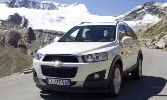 Espaa: Cambios en el Chevrolet Captiva