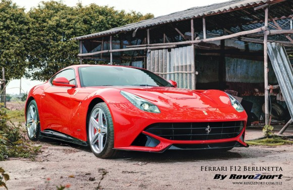 Revozport se atreve con el Ferrari F12berlinetta