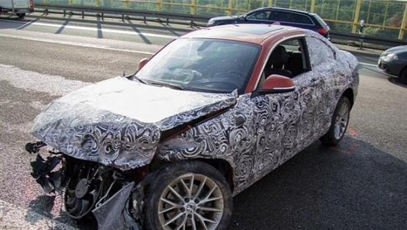 Accidente de un BMW Serie 2 Coupe