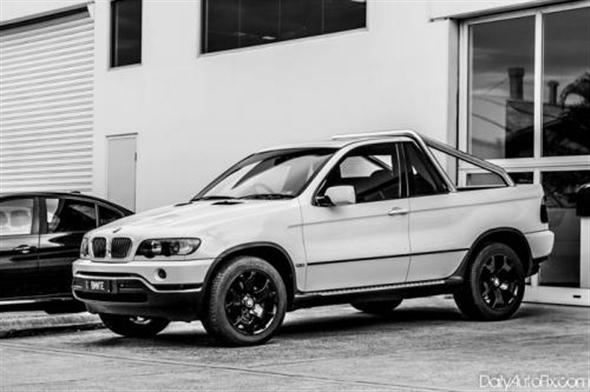 BMW X5 Pickup, es real