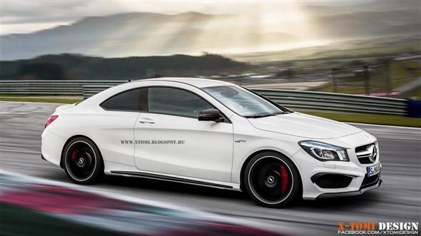 Mercedes CLA 45 AMG Coupe, una idea