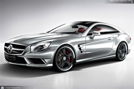 Mercedes SL Shooting Brake, más que una idea