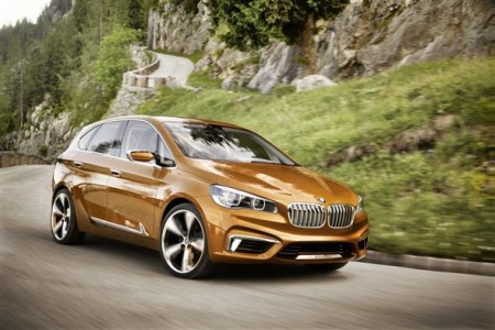 2013 BMW Concept Active Tourer Outdoor, oficial