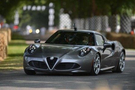 Desde Goodwood 2013: Alfa Romeo 4C