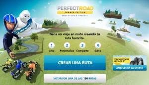 "Gana un viaje en moto con MICHELIN y ""Perfect Road"""