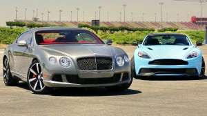 Aston Martin Vanquish vs Bentley Continental GT