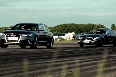 Audi RS6 vs Mercedes CLS63 AMG Shooting Brake