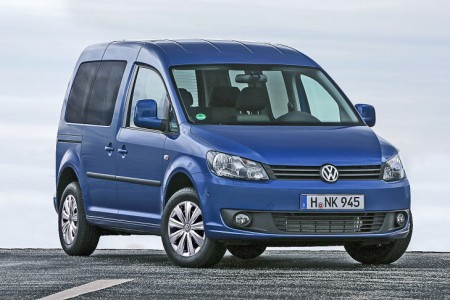 Volkswagen Caddy BlueMotion, rumbo a Fráncfort
