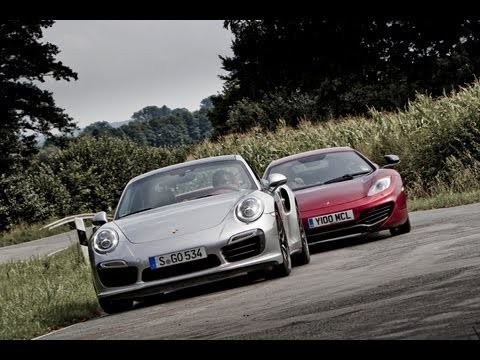 Porsche 911 Turbo S vs McLaren MP4 12C