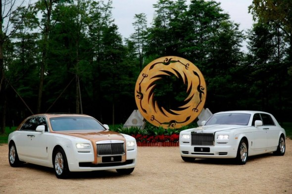 Rolls Royce Ghost Chengdu Golden Sun Bird Edition
