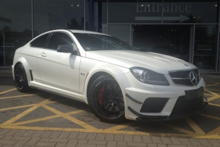Mercedes C63 AMG Black Series a la venta
