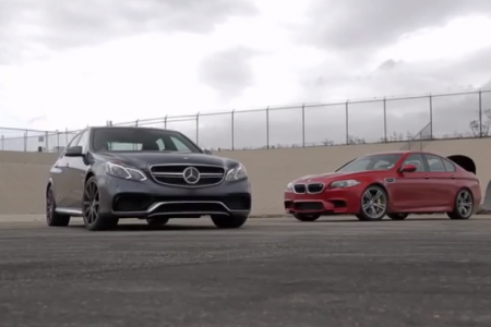 BMW M5 Competition vs Mercedes E63 AMG S