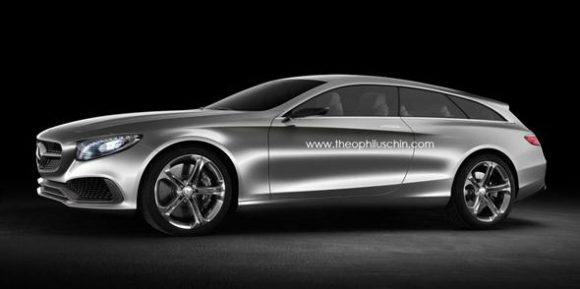 Mercedes Clase S Shooting Brake, una idea