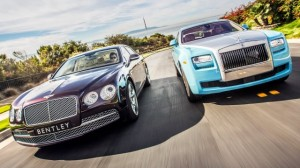 Bentley Flying Spur vs Rolls Royce Ghost, duelo en la cumbre