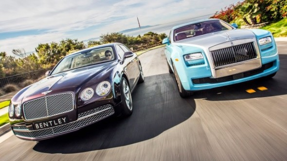 Bentley Flying Spur vs Rolls Royce Ghost, duelo en la cumbre 1