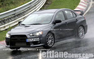 Mitsubishi Lancer Evolution X, fotos espías definitivas