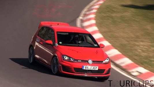 Volkswagen Golf GTI Club Sport, cazado en el 'Ring
