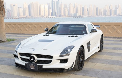 Así es el Mercedes SLS AMG Black Series de Royal Customs