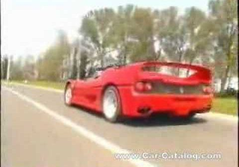 Ferrari F50 en Top Gear