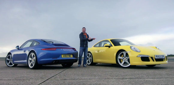 Vídeo: BMW i8 vs Porsche 911 Carrera S