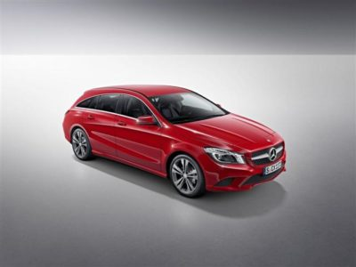 Oficial: Mercedes CLA y CLA 45 AMG Shooting Brake