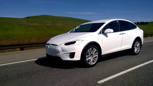 Cazado en vídeo: Tesla Model X, en etapa final
