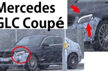 Vídeo: el Mercedes GLC Coupé ya apunta maneras