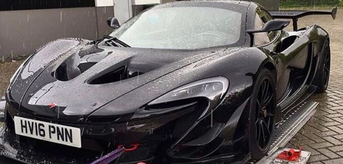 "Cazado en la calle un McLaren P1 GTR ""road-legal"""