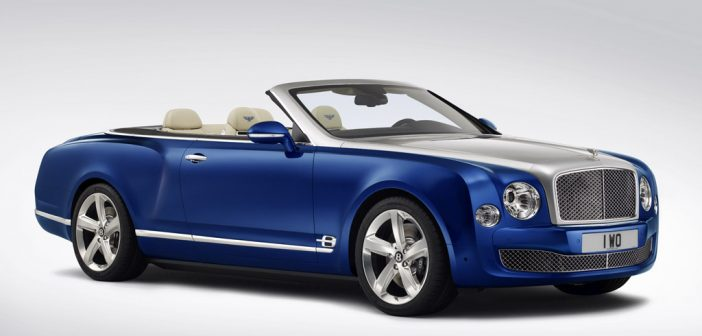 Bentley ya prepara un Mulsanne descapotable 1