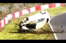 Vídeo: Brutal accidente de un Honda Civic Type R CW en Nürburgring