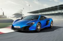 New McLaren 650S 2016 Blue Color Wallpaper