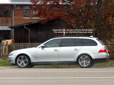 Fotos espía del BMW M5 Touring