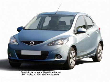 Foto espía Mazda 2