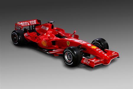 Ferrari presenta el F2007
