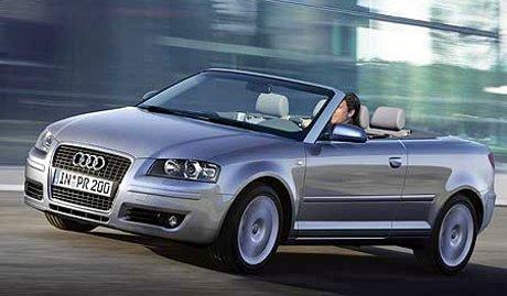 Audi A3 Cabrio, más información