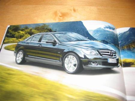 Foto espía Mercedes Benz Clase C