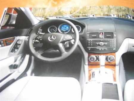 Mercedes Benz Clase C, fotos espía
